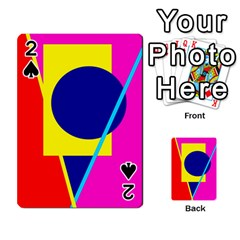 Colorful Geometric Design Playing Cards 54 Designs