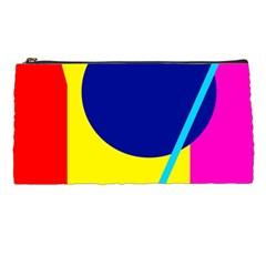 Colorful Geometric Design Pencil Cases by Valentinaart