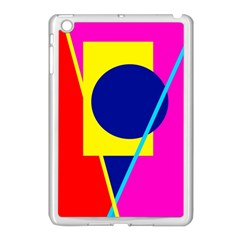 Colorful Geometric Design Apple Ipad Mini Case (white)