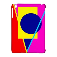 Colorful Geometric Design Apple Ipad Mini Hardshell Case (compatible With Smart Cover)