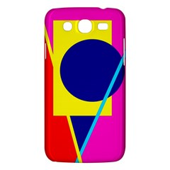 Colorful Geometric Design Samsung Galaxy Mega 5 8 I9152 Hardshell Case  by Valentinaart