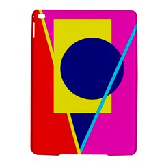 Colorful Geometric Design Ipad Air 2 Hardshell Cases by Valentinaart