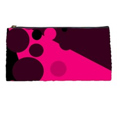 Pink Dots Pencil Cases by Valentinaart