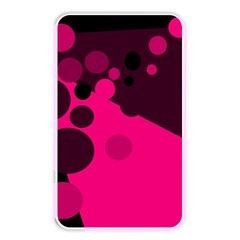 Pink Dots Memory Card Reader by Valentinaart