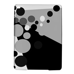 Gray Decorative Dots Ipad Air 2 Hardshell Cases by Valentinaart