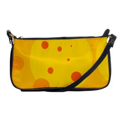 Abstract Sun Shoulder Clutch Bags by Valentinaart