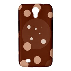 Brown Abstract Design Samsung Galaxy Mega 6 3  I9200 Hardshell Case by Valentinaart