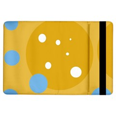 Blue And Yellow Moon Ipad Air Flip by Valentinaart