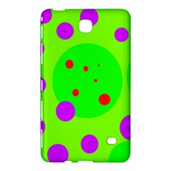 Green And Purple Dots Samsung Galaxy Tab 4 (8 ) Hardshell Case  by Valentinaart
