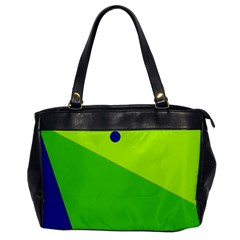Colorful Abstract Design Office Handbags by Valentinaart