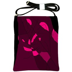 Abstract Design Shoulder Sling Bags by Valentinaart