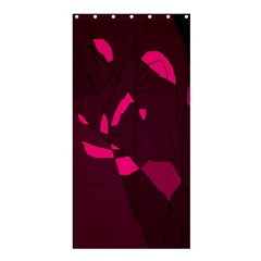Abstract Design Shower Curtain 36  X 72  (stall)  by Valentinaart
