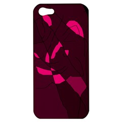 Abstract Design Apple Iphone 5 Hardshell Case by Valentinaart