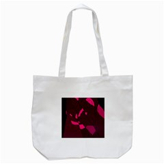 Abstract Design Tote Bag (white) by Valentinaart