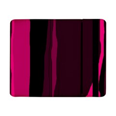 Pink And Black Lines Samsung Galaxy Tab Pro 8 4  Flip Case by Valentinaart