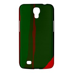 Green And Red Lines Samsung Galaxy Mega 6 3  I9200 Hardshell Case by Valentinaart