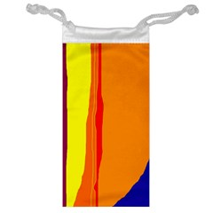 Hot Colorful Lines Jewelry Bags by Valentinaart
