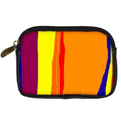 Hot Colorful Lines Digital Camera Cases by Valentinaart