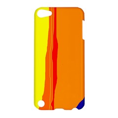 Hot Colorful Lines Apple Ipod Touch 5 Hardshell Case by Valentinaart