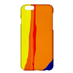 Hot Colorful Lines Apple Iphone 6 Plus/6s Plus Hardshell Case by Valentinaart