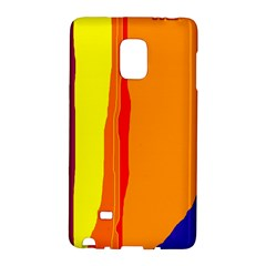 Hot Colorful Lines Galaxy Note Edge by Valentinaart