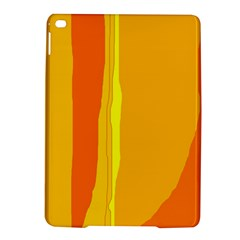 Yellow And Orange Lines Ipad Air 2 Hardshell Cases by Valentinaart