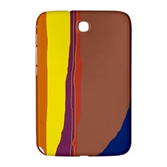 Colorful Lines Samsung Galaxy Note 8 0 N5100 Hardshell Case  by Valentinaart