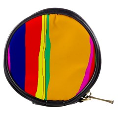 Colorful Lines Mini Makeup Bags