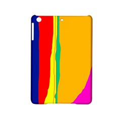 Colorful Lines Ipad Mini 2 Hardshell Cases by Valentinaart
