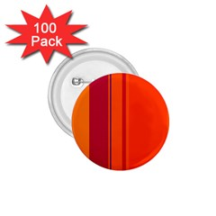 Orange Lines 1 75  Buttons (100 Pack)  by Valentinaart