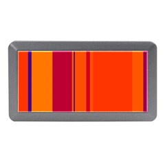 Orange Lines Memory Card Reader (mini) by Valentinaart