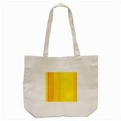 Yellow Lines Tote Bag (cream) by Valentinaart