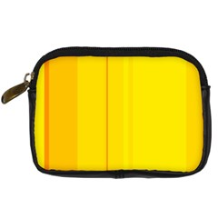 Yellow Lines Digital Camera Cases by Valentinaart