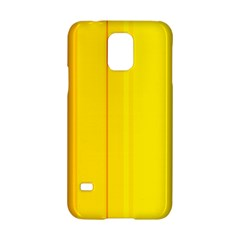 Yellow Lines Samsung Galaxy S5 Hardshell Case