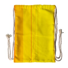 Yellow Lines Drawstring Bag (large) by Valentinaart