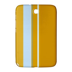 Yellow Elegant Lines Samsung Galaxy Note 8 0 N5100 Hardshell Case  by Valentinaart