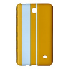 Yellow Elegant Lines Samsung Galaxy Tab 4 (7 ) Hardshell Case  by Valentinaart