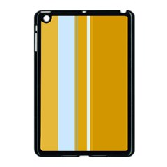Yellow Elegant Lines Apple Ipad Mini Case (black) by Valentinaart