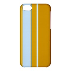 Yellow Elegant Lines Apple Iphone 5c Hardshell Case by Valentinaart