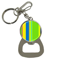 Colorful Lines Bottle Opener Key Chains by Valentinaart