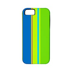 Colorful Lines Apple Iphone 5 Classic Hardshell Case (pc+silicone) by Valentinaart