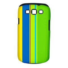 Colorful Lines Samsung Galaxy S Iii Classic Hardshell Case (pc+silicone) by Valentinaart