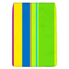 Colorful Lines Flap Covers (l)  by Valentinaart