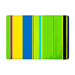 Colorful Lines Ipad Mini 2 Flip Cases by Valentinaart