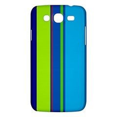 Blue And Green Lines Samsung Galaxy Mega 5 8 I9152 Hardshell Case  by Valentinaart