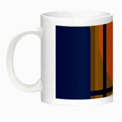 Decorative Abstract Design Night Luminous Mugs by Valentinaart