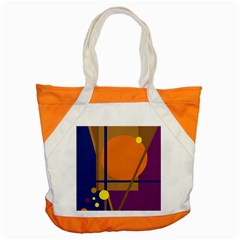 Decorative Abstract Design Accent Tote Bag by Valentinaart