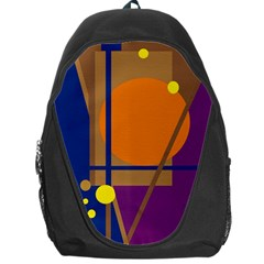 Decorative Abstract Design Backpack Bag by Valentinaart