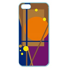 Decorative Abstract Design Apple Seamless Iphone 5 Case (color) by Valentinaart