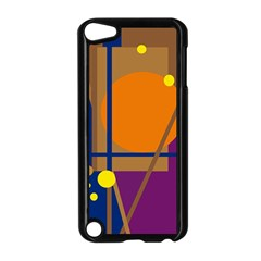 Decorative Abstract Design Apple Ipod Touch 5 Case (black)